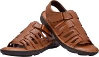 Enzo Cardini Men Brown Sandals Brown