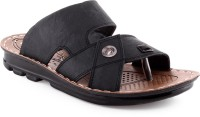 Welcome Welcome Pure WGP 8002 Black Floater Sandals Men Black Sandals Black