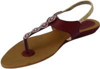 Footgear Girls, Women Burgundy Flats Burgundy