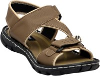 Cooper England Chickoo Leather Sandals