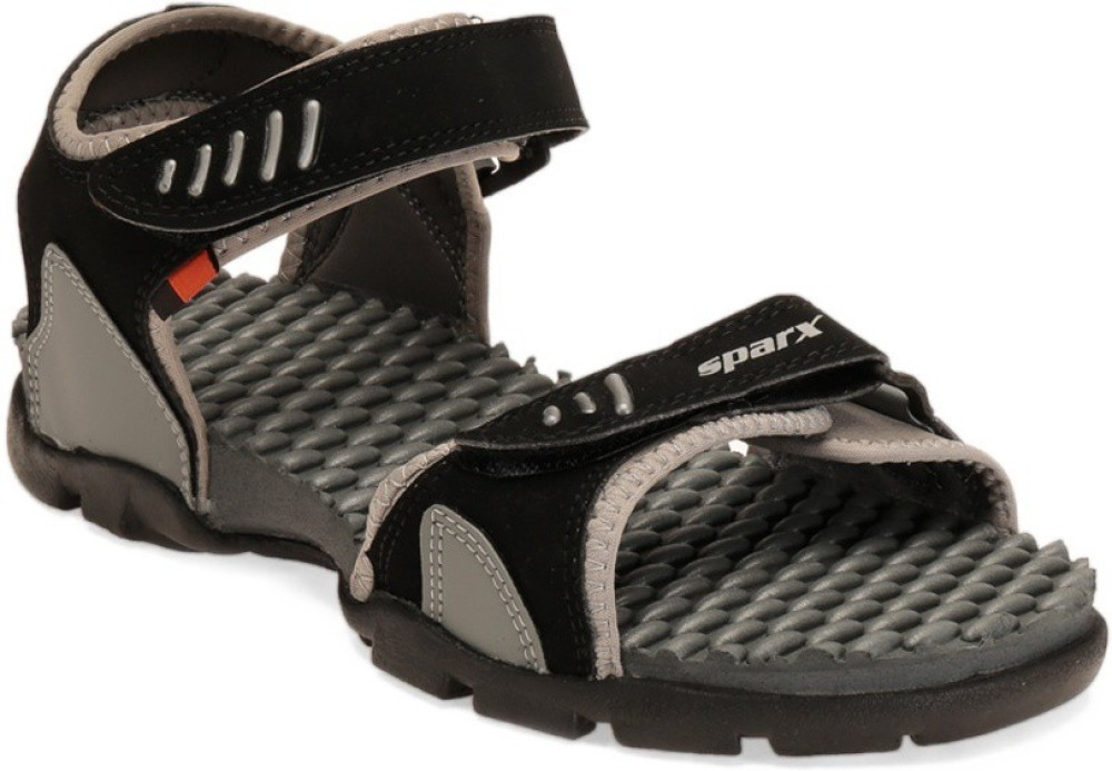 Sparx Men BlackGrey Sandals