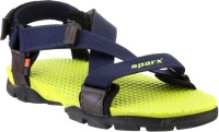 Sparx Men Navy, Green Sandals Navy, Green