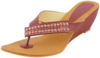 Footgear Girls, Women Burgundy Heels Burgundy