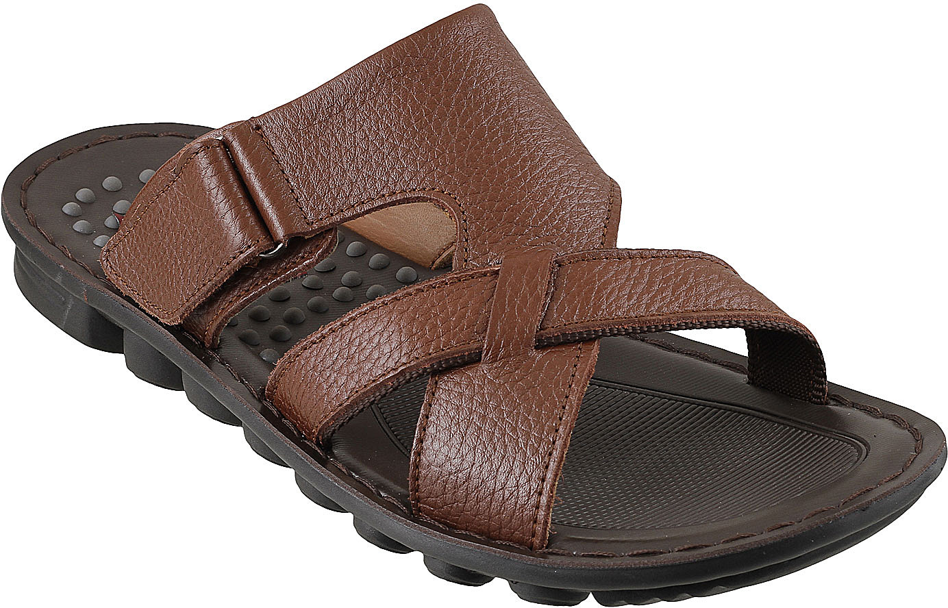0cf788f575e Mochi 23-tan-14-7837 J Fontini Men Tan Sandals - Best Price in India ...