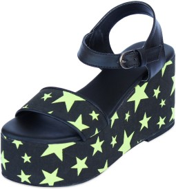 Chalk Studio Starry Night Women Wedges