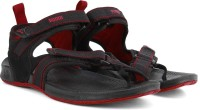 Puma Walker DP Men Black, Red Sports Sandals Black, Red