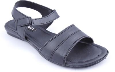 Muxyn Women Footwear Flats (Black)