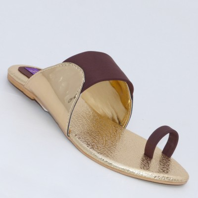 Unique Unique Flats (Brown)