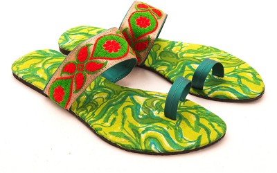 Myra Myra Vibrant Flats (Green)