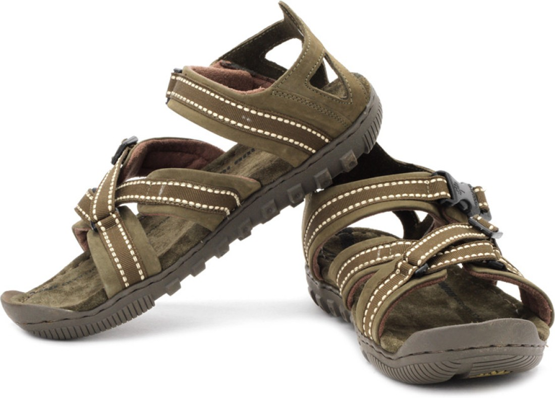Excellent Woodland Men39s Brown Sandals823110  Sandals Amp Slippers For Footwear