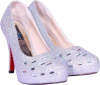 Sapatos Women Silver, Silver Heels Silver, Silver