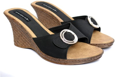 Wedges Select Women's Sandals Wedges (Black)