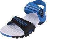 Campus Men Blue, Black Sandals Blue, Black