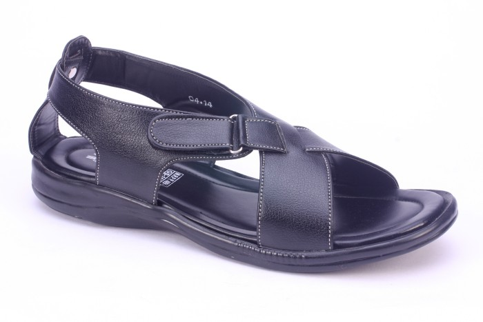 Titas Titas Mens Black Casual Sandals - 10 UK Flats
