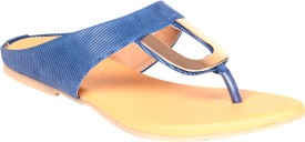 Soft & Sleek U Shape Blue Ballerina Girls Flats