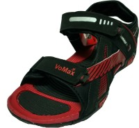 VoMax Men Black, Red Sandals Black, Red - SNDEHUXZDMG6SD8F