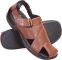 Cythos Moonwalk-421-B Leather Sandals