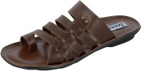 Zohran Brown Men Brown Sandals Brown