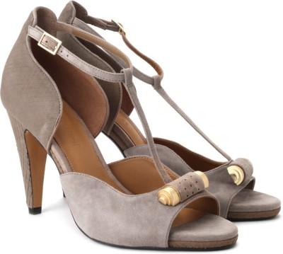 Clarks Clarks Saxen Curtain Heels (Brown)