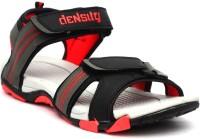 Density Dns 1212 Blk Red Men Black, Red Sandals Black, Red