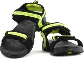 Fila Liberty Men Black, Green Sports Sandals