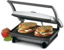Nova 2 SLICE PANINI GRILL MAKER - Black & Steel