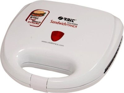 Orbit  2 Slices Sandwich Maker SM-689 (White)