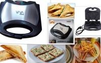 Viva Smart Crispy And Grill Sandwich Maker Toast (silver)
