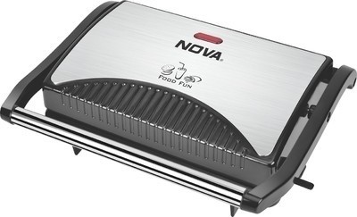 Nova 2 Slice Panni Grill Sandwich Maker (Black)