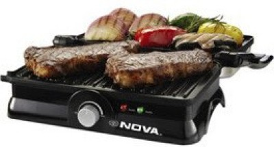 Nova 3 in 1 Panni Grill Press with Adjustable Temperature Control (Black)