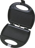 Lifelong Sandwich Maker (112 Griller Plate) Grill, Toast (Black, Stainless Steel)