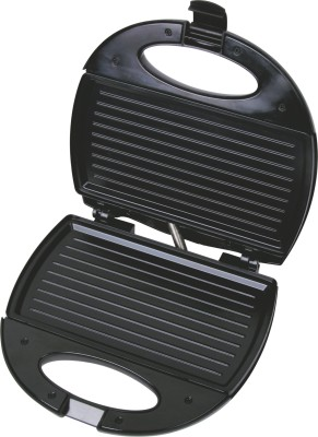 Lifelong Sandwich & Panni Maker (112 Large Griller Plate) Grill, Toast (Black, Stainless Steel)