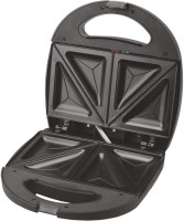 Wama Sandwich Maker With Triangle Plates - Elite WMSM 10 Toast (Black)