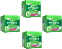 Whisper Ultra Clean XL-Wings(15pads) Sanitary Pad (Pack Of 4)