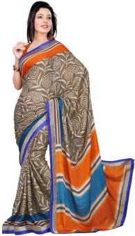 Balar Saree Floral Print Art Silk Sari