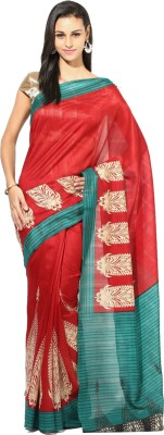 Saree Hub Printed Bhagalpuri Cotton Sari