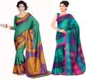 Sunaina Printed Cotton, Silk Sari - SARDTX45JWHXS3GH