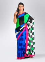 Mrignain Synthetic, Chiffon Sari