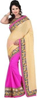 Bunny Sarees Embriodered Fashion Chiffon Sari