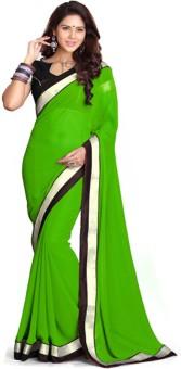 Sareeshop Plain Fashion Net, Georgette Sari