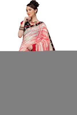 Taanshi Taanshi Floral Print Bhagalpuri Silk Sari (Multicolor)