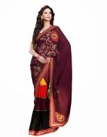 Anwesha Floral Print Georgette Sari