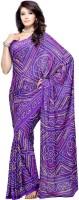 Priyankas Printed Crepe, Silk Sari