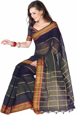 Ishin Printed Cotton Sari available at Flipkart for Rs.799