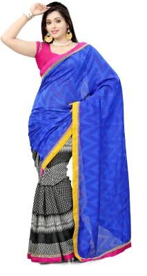 Triveni Printed Daily Wear Jacquard Sari