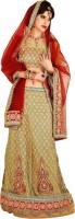 Chirag Sarees Self Design Embroidered Embellished Brocade Sari