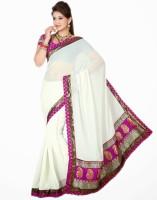 Saree Swarg Printed Chiffon Sari