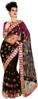 Chirag Sarees Self Design Embroidered Embellished Net Sari - SARDWMQFMJHK9AAY
