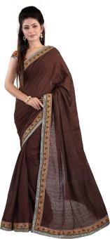 Maaart Plain, Embriodered Bollywood Jacquard Sari