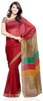 Dealtz Fashion Printed Art Silk, Cotton Sari